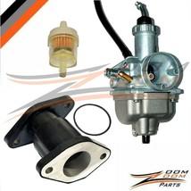 Intake Manifold Boot & Carburetor Fits Yamaha Breeze 125 YFA1 1989-2004 89-04 - $34.60
