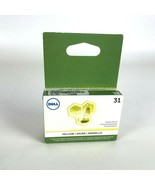 Lotto di 5 Dell Serie 31 Inchiostro Cartuccia Giallo 3MH11 (V525w V725w) - $74.55