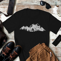 Wheelie In Front Of Mountains Tri-Blend T-Shirt - $16.99+