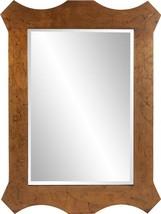 HOWARD ELLIOTT PHOENIX Wall Mirror Scalloped Rectangular - $639.00