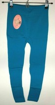 Tri-Union Women's Blue Stretchable Leggings With Pattern One Size - $8.53