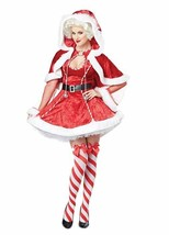 California Costumes Sexy Mrs. Claus Adult Womens Xmas Christmas Costume ... - $23.83