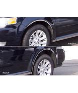 09-18 FORD FLEX 4dr QAA Stainless 6pcs Wheel Well Accent WQ49340 - $98.99