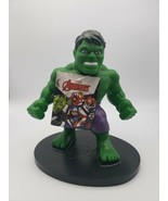 "HULK PVC Soft Figure Marvel Kids Toy 9"" Collectible Talks New With Tags - $14.84"