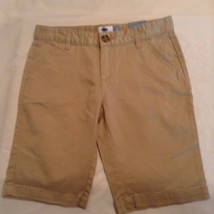 Boys New Size 12 Old Navy shorts khaki uniform bermudas shorts - $17.99