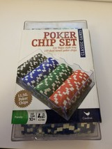 100 Ct. Classic Games Poker Chip Set 11.5 gm (styles may vary) Fast Shipping!!!! - $14.71