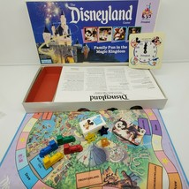 Vintage 1990 Disneyland Board Game Family Fun in the Magic Kingdom COMPLETE - $23.76