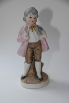 ORIGINAL ARNART FIGURINE BOY VICTORIAN COLONIAL VINTAGE MADE IN REPUBLIC... - $13.99