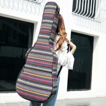 Ethnic Knitting 40 Inch / 41 Guitar Bag Waterproof Acoustic Electric Car... - $39.03