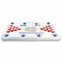 GoPong Original Pool Party Barge Floating Beer Pong Table with Cooler, W... - $49.70
