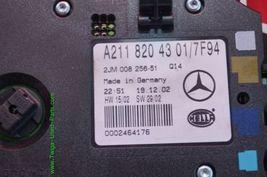 03-09 Mercedes W211 E350 E420 E500 Interior Dome Map Light GREY A2118204301 image 9
