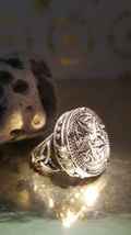 Black magic Witch ring, real magic, haunted jewellery, voodoo, spell ring - $97.00
