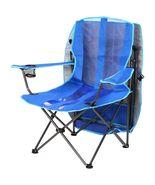 Sand Beach Chair With Canopy Folding Adjustable Aluminum Sun Shade UV Cu... - $59.99