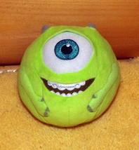 Disney Monsters Inc Plush TY Beanie Ballz Sparkle 1-Eye Mike Wazowski - $4.29