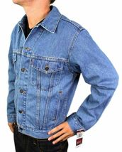 Levi's Men's Premium Classic Cotton Button Up Denim Jean Jacket 705070389 image 3