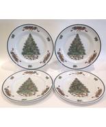 "Set of (4) Johnson Bros. 1992 'Victorian Christmas' 10"" Dinner Plates - $79.99"