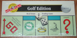 MONOPOLY GAME GOLF EDITION MONOPOLY USAOPOLY 1996 NEW FACTORY SEALED BOX - $20.00