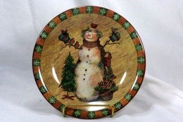 Certified International Country Snowman Salad Plate - $6.92