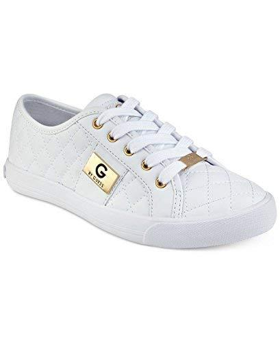 G by GUESS Backer2 Women's Lace-up Sneakers Shoes (6.5, White)