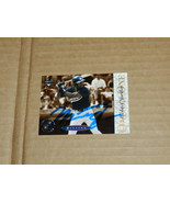 MICHAEL JORDAN HAND SIGNED AUTOGRAPH CARD - $90.00