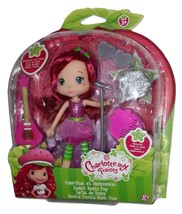 Strawberry Shortcake Rock Star Scented Doll 14cm with Guitar Charlotte - $22.00