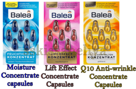 Balea Lift Effect / Q10 Anti-wrinkle / Moisture Concentrate Capsules - $4.94+