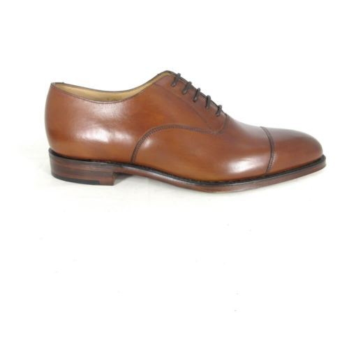 Primary image for 7.5 UK / 8.5 US - LOAKE 1880 Mens Leather ALDWYCH Mahahany Shoes NEW NIB 0127LF