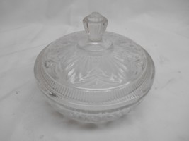 Old Vtg AVON BEAUTY DUST CRYSTALIQUE CONTAINER Vanity Decor Collectible - $19.79