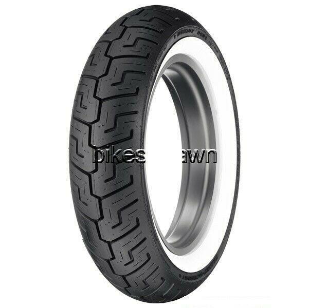 New Dunlop D401 150/80B16 Harley Davidson Rear Wide White Wall WWW Tire 71H TL
