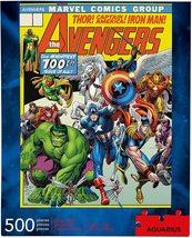 Marvel The Avengers Cover 500 pieces puzzle Aquarius image 2