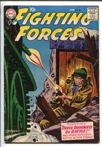 OUR FIGHTING FORCES #22-1957-DC-SILVER AGE-ELUSIVE-JOE KUBERT-fn - $106.78
