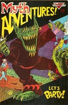 Myth Adventures #10 1986 Apple Comics WaRP Graphics Let's Party! - $2.50