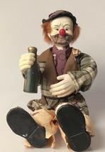 Emmett Kelly Porcelain/Cloth Figure - $44.55