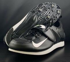 NEW Nike Zoom PV II Black Track & Field Spike Shoes 317404-017 Men's Siz... - $79.19