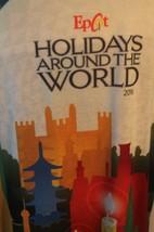 NWT Walt Disney World Epcot Holidays Around the World 2016 Shirt Sz XL Xmas - $46.71