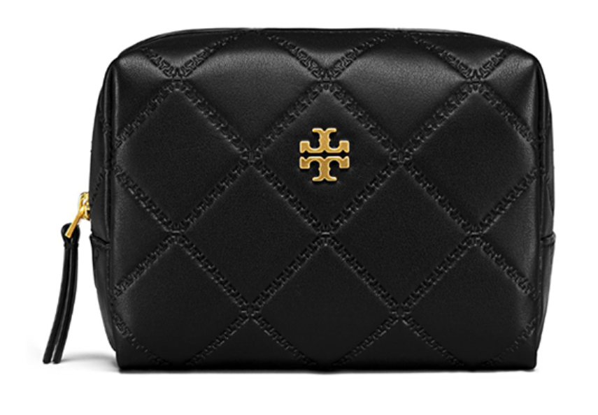 af915ce245e ... TORY BURCH Georgia Small Makeup Bag for Woman with Free Gift ...