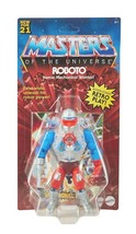 NEW SEALED 2021 Masters of the Universe Retro Roboto Action Figure - $34.64