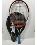 Head Agassi 25 Jr. Tennis Racket Art # 230202 W/ Cover 3 7/8-00 Grip Wit... - £22.23 GBP