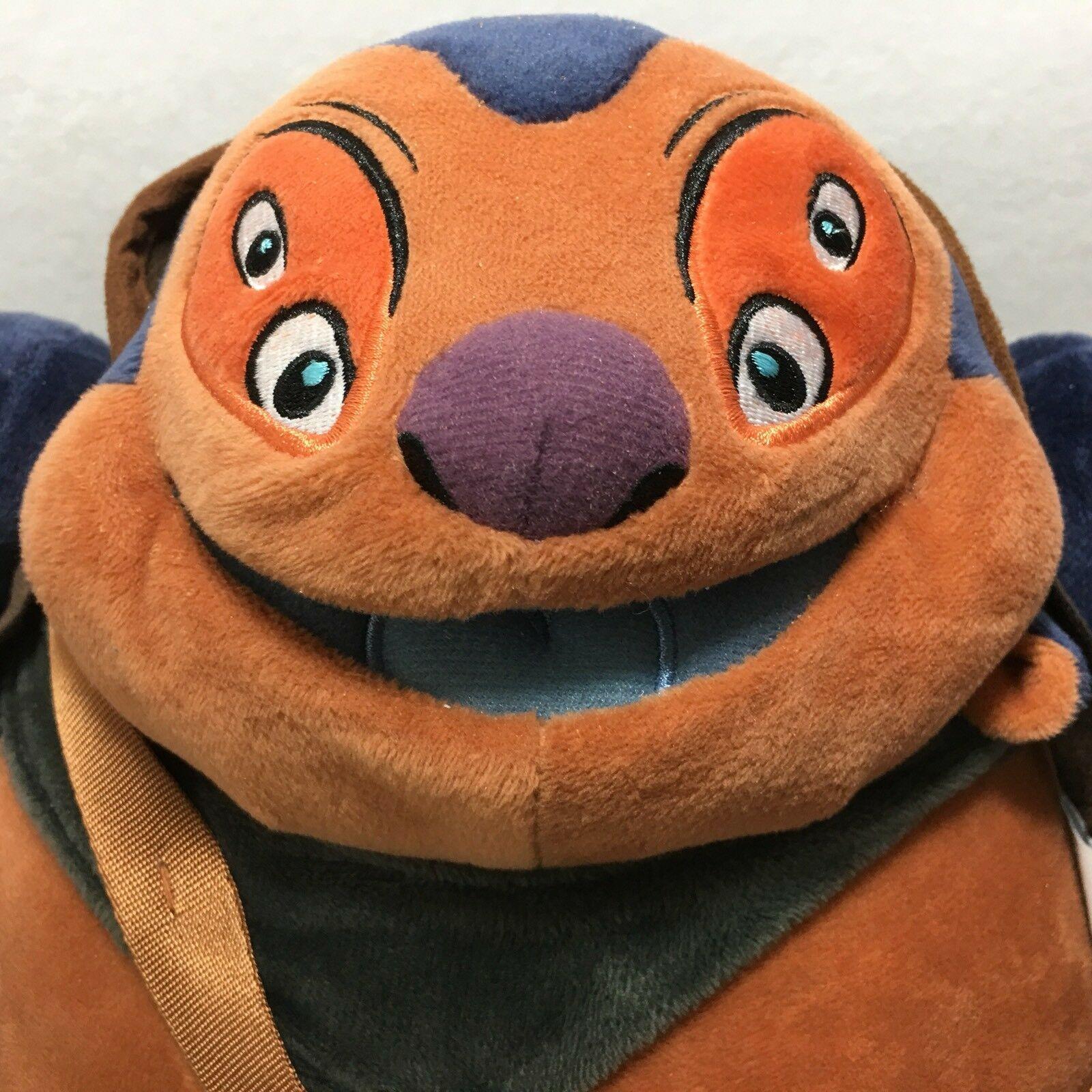 Disney Store Dr Jumba Jookiba Plush From Lilo & Stitch 13 Inch Mad Scientist image 2