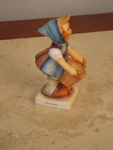 """Vintage 4.5"""" Hummel Goebel Figurine #73 Little Helper Girl With Basket - $118.79"""