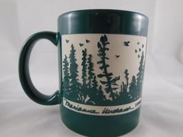 Alaska Artist Marianne Wieland KAKM Anchorage Alaska Etched Coffee Mug E... - $14.84