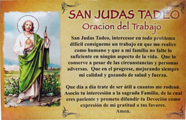 CEDULA DE SAN JUDAS TADEO