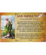 CEDULA DE SAN JUDAS TADEO - $3.95