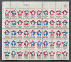 American Revolution Bicentennial 1776-1976,  Sheet of 8 cent stamps, 50 ... - $7.50