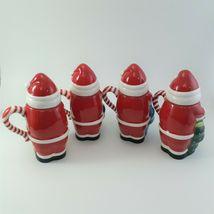 Temptations 24 oz Santa Mugs W/ Lids Set of 4 image 8