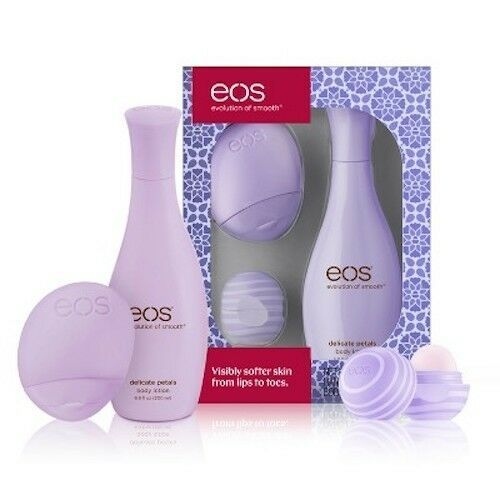 eos Lip & Lotion 3-Piece Gift Set - Lip Balm, Hand Lotion, Body Lotion