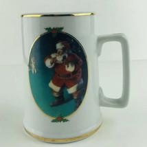 Coca Cola Collector Edition 1996 Seasons Greetings Holiday Christmas Santa  Mug - $6.92