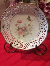 Plate Schumann Arzberg Tradition Mountain Rose Bowl Vintage  Bavaria Ge... - $22.00