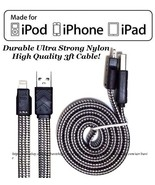USB Data Sync Wire Charger Cable Cords iPod / iPhone 5C 5S 5 / 6 / 6S / ... - $7.99