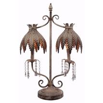 Urbanely decorous Two Arm Table Lamp - Benzara - $229.99